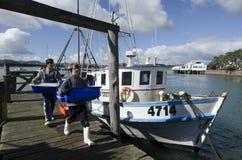 Industrie de la pêche Photographie stock