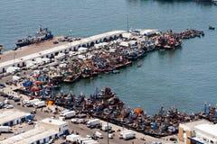 Industrie de la pêche image libre de droits