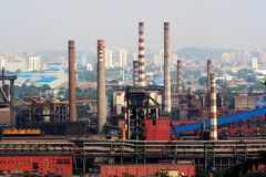 Industrie de Pékin Photos libres de droits