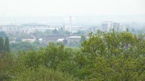 Industrie de Romford un matin 2019 de ressort photos libres de droits