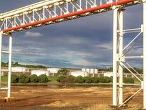 Industrie de sucre et d'éthanol photographie stock