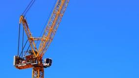 Industrie della gru, della costruzione e del porto Fotografia Stock