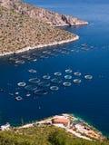 Industrie della pesca (verticale Fotografia Stock