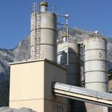 Industrie in der Schweiz lizenzfreie stockbilder