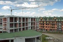 Industrie du bâtiment et cran. photographie stock libre de droits