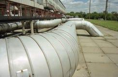 Industrie du gaz, gaz-extraction Photographie stock libre de droits