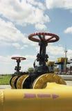 Industrie du gaz, gaz-extraction Images libres de droits