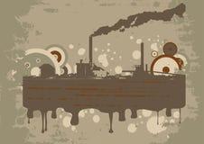 Industrie grunge urbaine d de vecteur Images stock