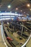 Industrie-Installationsleistung Stockfoto