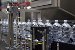 Industrie - l'eau minérale Images libres de droits
