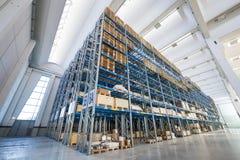 Industrie-Lagerhaus Lizenzfreie Stockfotografie