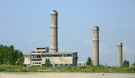 Industrie lourd abandonné Image stock