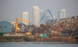 Industrie lourde et Vancouver Photographie stock libre de droits