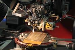 Industrie microélectronique Photographie stock libre de droits