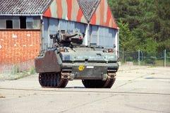 Industrie militaire, réservoir image stock