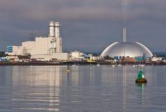 Industrie op het Water Royalty-vrije Stock Foto's