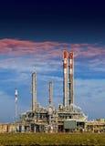 Industrie pétrochimique image stock