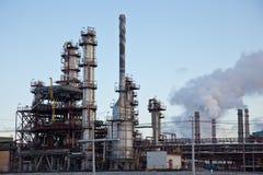 Industrie pétrochimique Photographie stock