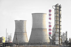 Industrie pétrochimique photo libre de droits