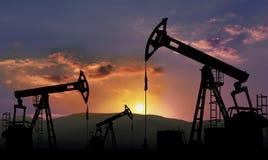 Industrie pétrolière  Photos libres de droits