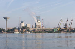 Industrie-Park in Rumänien Lizenzfreies Stockfoto