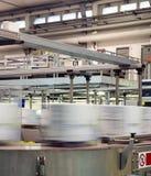 Industrie - productielijn Stock Afbeelding
