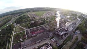 Industrie, Produktion stock video