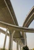 Industrie-Ringbrücke stockbild
