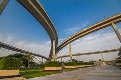 Industrie-Ringbrücke lizenzfreies stockbild