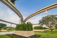 Industrie-Ringbrücke lizenzfreie stockbilder