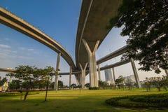 Industrie-Ringbrücke stockfotografie