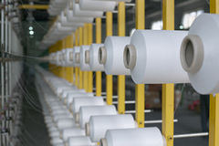 Industrie textile Photo stock