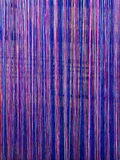 Industrie textile en soie faite main, écharpe en soie sur une vieille machine Images libres de droits