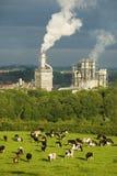 Industrie und Natur Stockfotografie