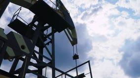 Industrie van de olie en van het Gas stock video