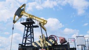Industrie van de olie en van het Gas stock footage