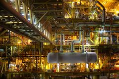 Industrie van de olie en van het Gas stock foto's