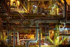 Industrie van de olie en van het Gas stock foto