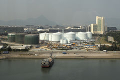Industrie van Hongkong Stock Fotografie