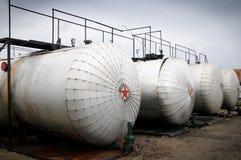 Industrie van olieraffinage en gas, Royalty-vrije Stock Afbeelding