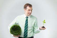 Industrie verte image libre de droits
