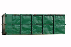 Industrieabfallbehälter Stockbilder