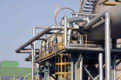 Industrieanlage lizenzfreies stockbild