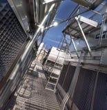 Industrieanlage -2 Lizenzfreies Stockbild