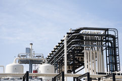 Industrieanlage Stockbild