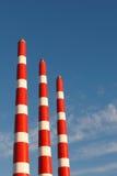 Industrieanlage-Stapel Lizenzfreies Stockbild