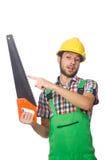 Industriearbeiter lokalisiert Lizenzfreie Stockbilder