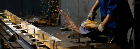 Industriearbeitskraft Lizenzfreie Stockbilder