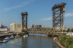 Industriearchitektur in Chicago Lizenzfreie Stockfotos