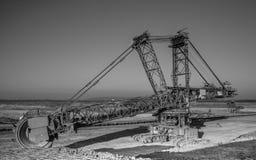 Industriebagger Stockfotografie